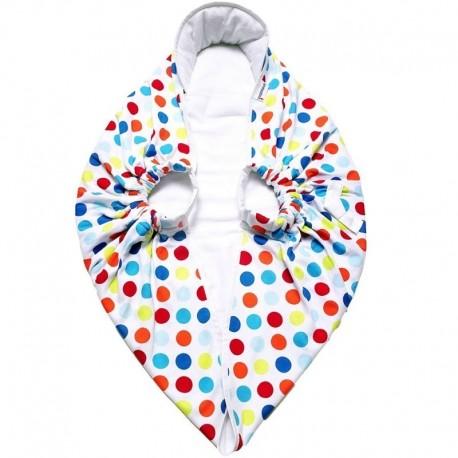 Snugglebundl baby blanket Funky Spots