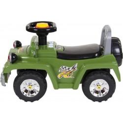 Jeździk Jeep ze światłami - zielony