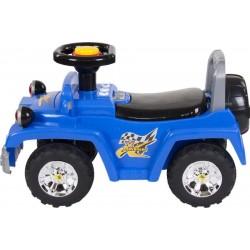 Jeździk Jeep ze światłami - niebieski
