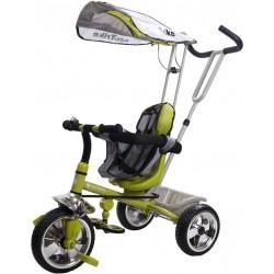 Rowerek trójkołowy Super Trike - zielony