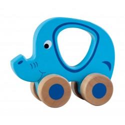 Drewniany słoń