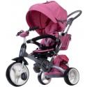 Rowerek trójkołowy Little Tiger - melanż różowy