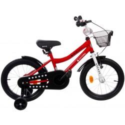 """Rowerek BMX 16"""" Junior czerwony"""