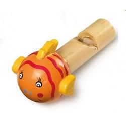 Drewniane Gwizdki - zwierzaki
