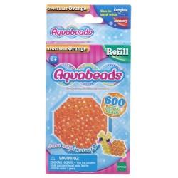 Aquabeads Pomarańczowe koraliki-klejnociki