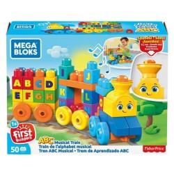 Mega Bloks BB Pociąg ABC z dźwiękami