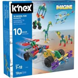 K'Nex Imagine 10 modeli - zestaw konstrukcyjny
