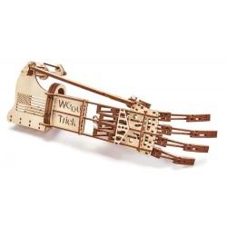 Puzzle 3D mechaniczna ręka Wood Trick