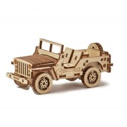 Drewniane puzzle 3D Jeep
