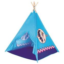 Namiot indiański - tipi niebieskie