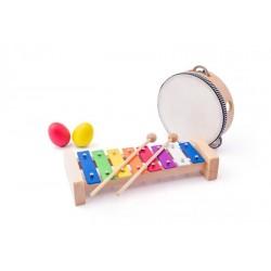 Zestaw Muzyczny 8 elementów - instrumenty