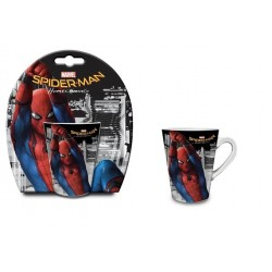 Spider-man Zestaw podarunkowy kubek 320 ml