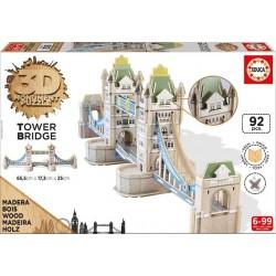 Puzzle 3D Monument Tower Brigde 92 el.