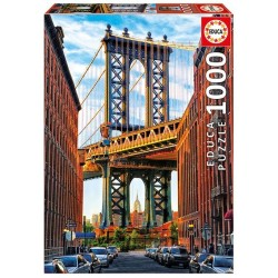 Puzzle Most na Manhattanie, Nowy Jork 1000 el.