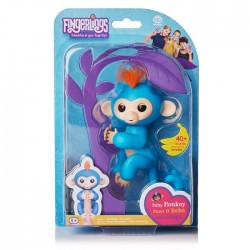 Fingerlings – Małpka Boris Niebieski