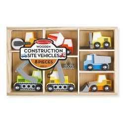 Pojazdy budowlane – zestaw 7 szt.