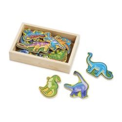 Magnesy z dinozaurami – 20szt.