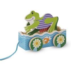 Zabawka do ciągnięcia – Żabie wyścigi
