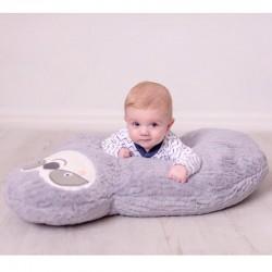 Bizzi Growin Leniwiec poduszka ciążowa, do karmienia, leżakowania i nauki siadania