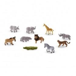 Safari figurki – zestaw 10 sztuk Melissa & Doug