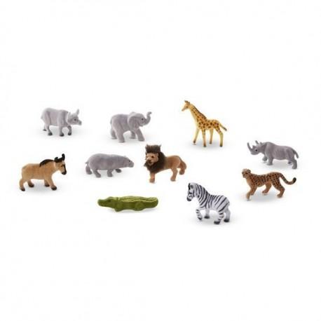 Safari figurki – zestaw 10 sztuk