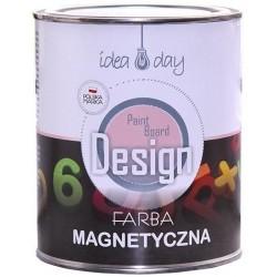 Farba magnetyczna 0,75 litra czarna