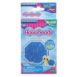 Aquabeads Niebieskie koraliki-klejnociki