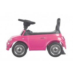 Jeździk Fiat 500 - Rosa różowy