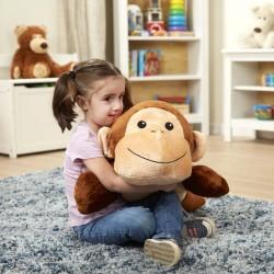 Przytulanka i poduszka małpka