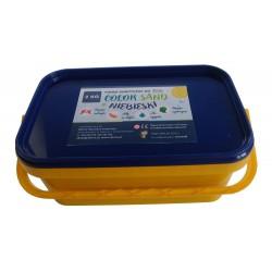 Piasek kinetyczny 2 kg niebieski - polski piasek