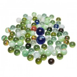 Szklaki Marbles - Szklane kulki 88 szt.