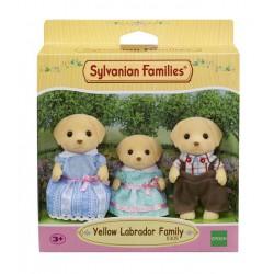 Sylvanian Families Rodzina biszkoptowych labradorów (Tata, Mama, Siostra)